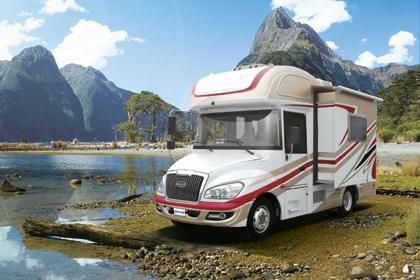 国内首款小型房车专用底盘房车——国际房车展览会全球首发