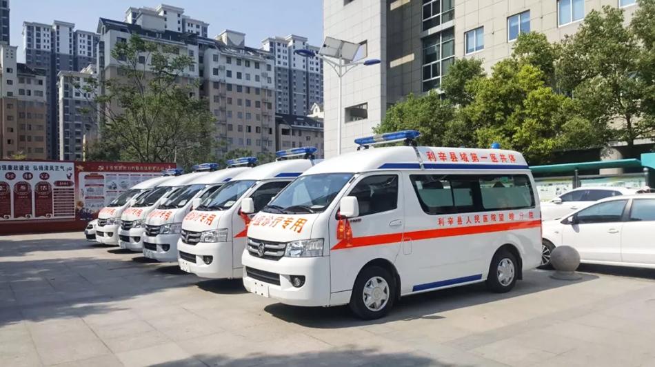 """宇通""""亲民小胖""""助力农村基层医疗提升"""