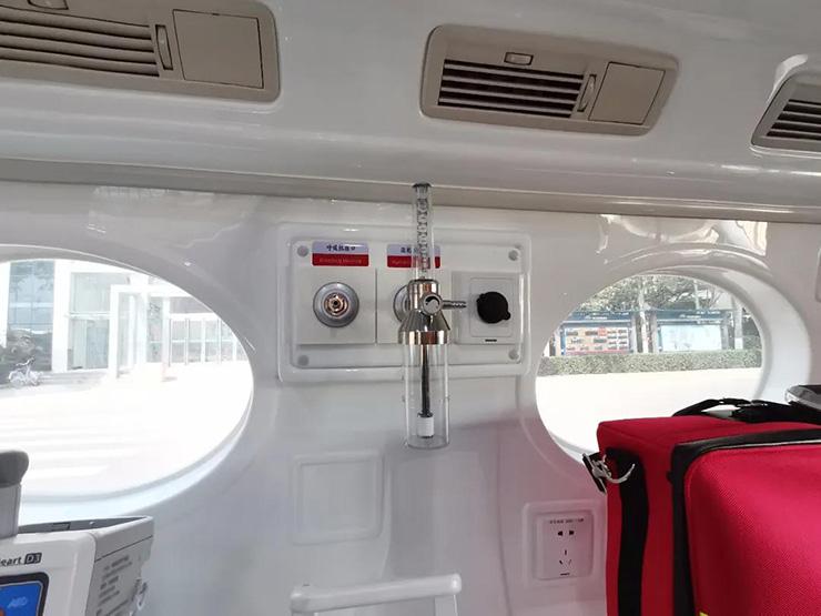 交车!国家院前医疗急救服务能力提升项目负压救护车正式交付